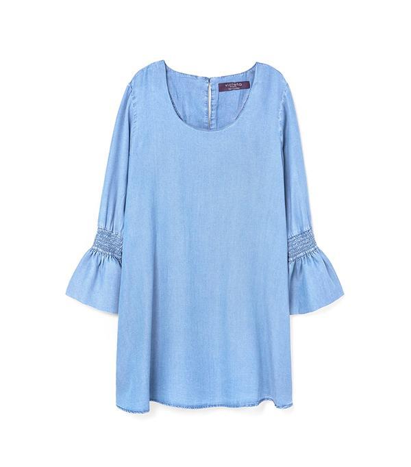 best plus-size denim dress