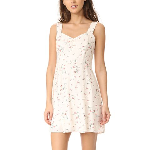 Hannah A-Line Mini Dress