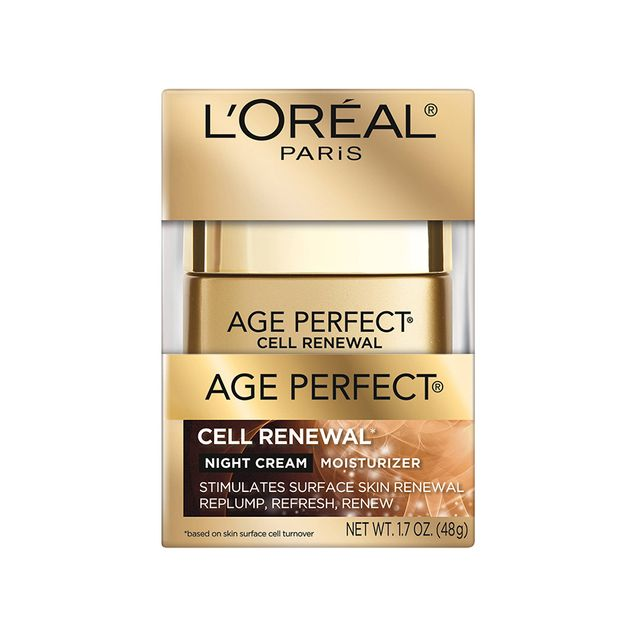 L'Oréal Age Perfect Cell Renewal Night Cream Moisturizer