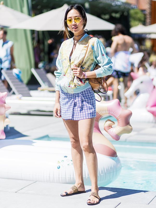 WHO: Aimee Song WEAR: Chloé bag.