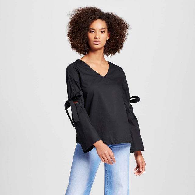 Who What Wear Bell Sleeve Shirt