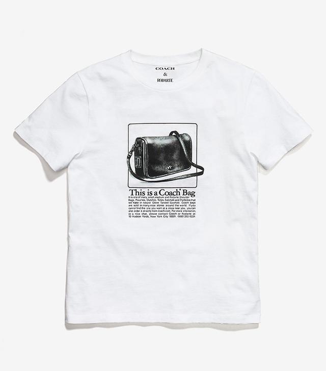 Coach & Rodarte T-Shirt With Archive Print