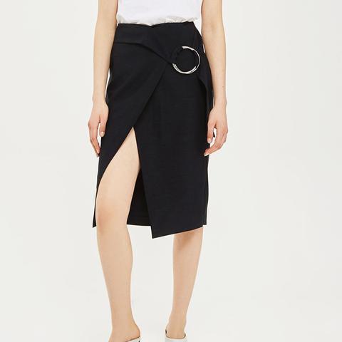 Ring Midi Skirt