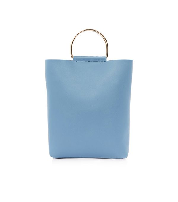 Topshop SEB Metal D-Ring Shopper Bag