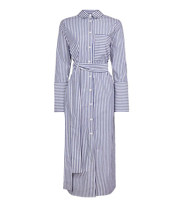 Topshop Stripe Shirt Dress by Boutique