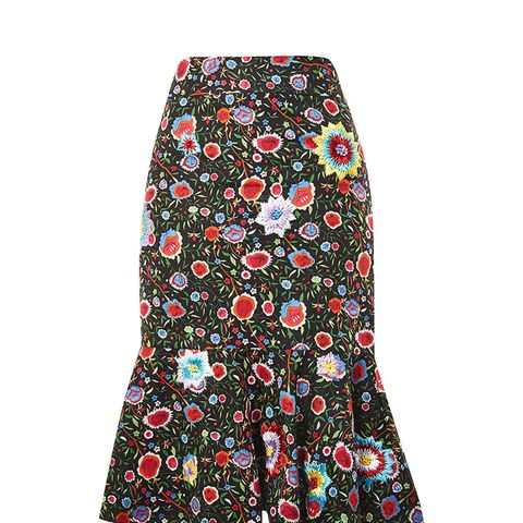 Ruffle Midi Skirt by Prints by Mochi