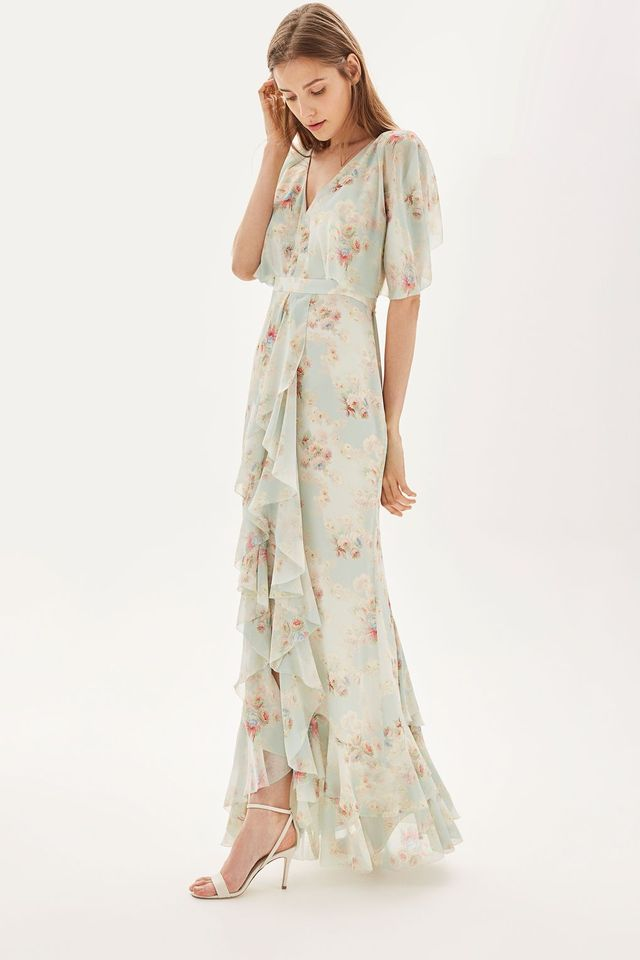 This New Topshop Bridesmaid Dress Sold Out Insanely Fast