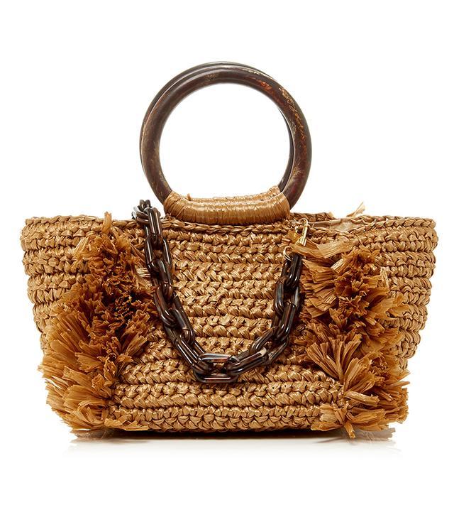 best spring bags - Carolina Santo Domingo Carollina Raffia Tote