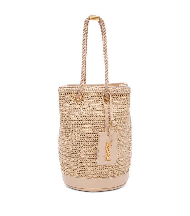 best spring bags - Saint Laurent Sea Small Rope Bucket Bag