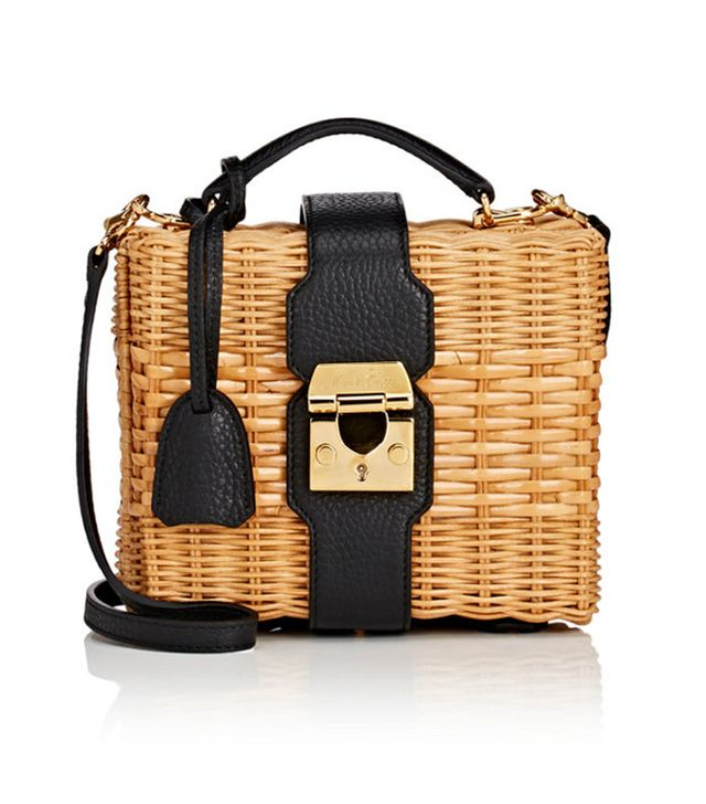 best spring bags - Mark Cross Harley Rattan Satchel