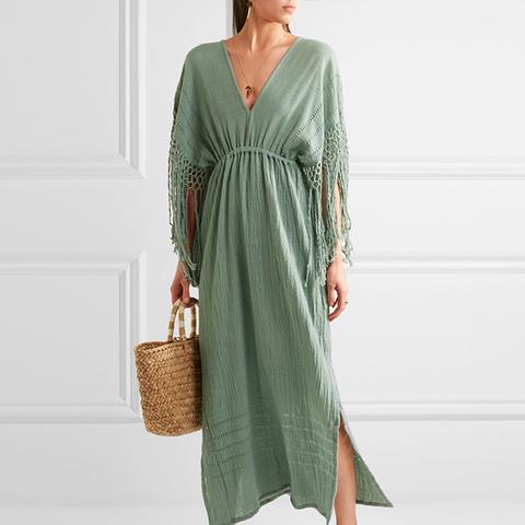 Yunuen Fringed Dress