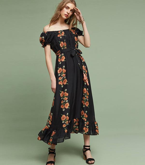 cute boho dresses - Carolina K Reanna Silk Midi Dress