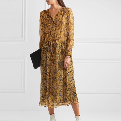 Baphir Silk Midi Dress