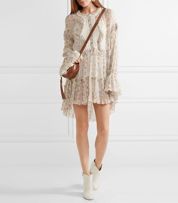 cool boho dresses -  Philosophy di Lorenzo Serafini Floral Mini Dress