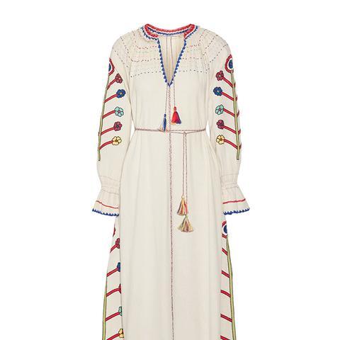 Natalia Embroidered Dress