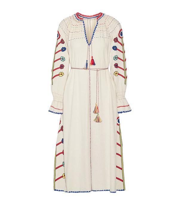 best boho dresses - Ulla Johnson Natalia Embroidered Dress
