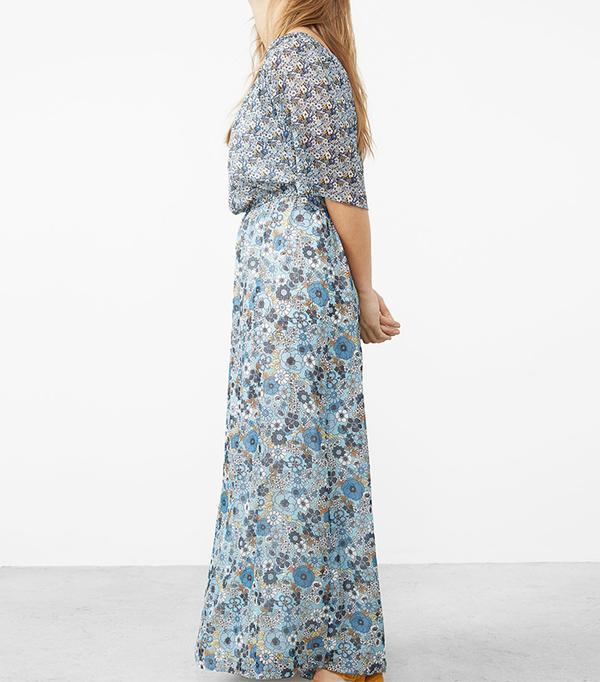 best boho dresses - Violeta Printed Off-the-Shoulder Dress