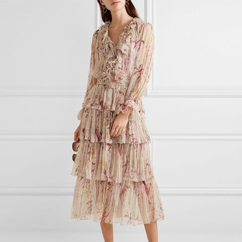 Winsome Floral Dress