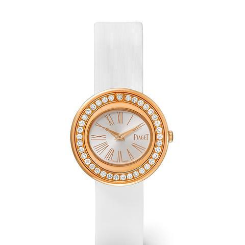Possession Satin 18-karat Rose Gold Diamond Watch