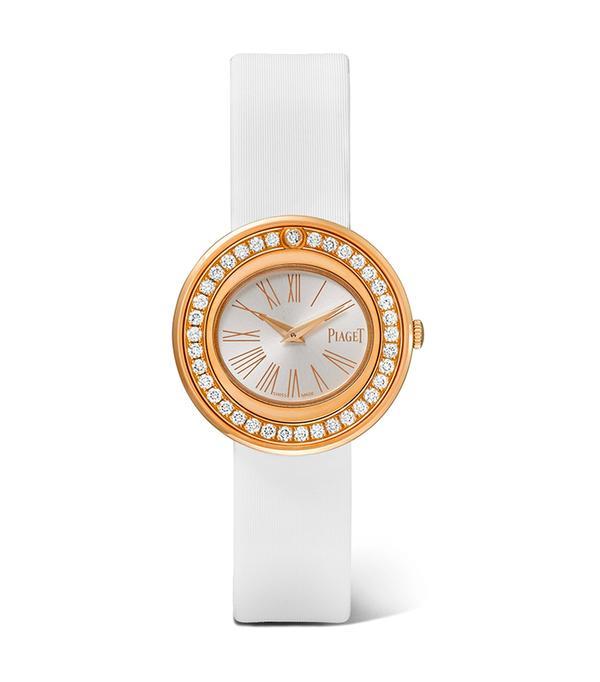 PIAGET Possession satin, 18-karat rose gold diamond watch
