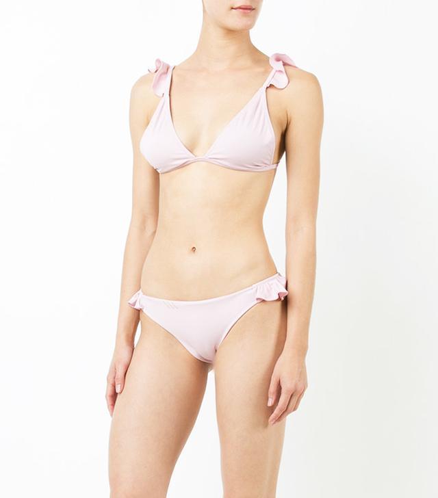 Anine Bing Rose Bikini Top