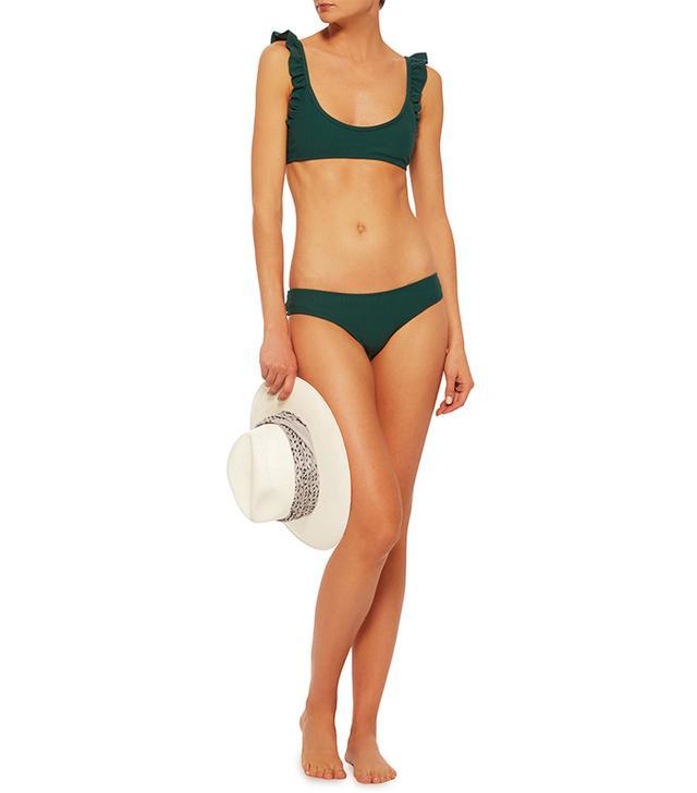 Made by Dawn Ribbed Bikini Top