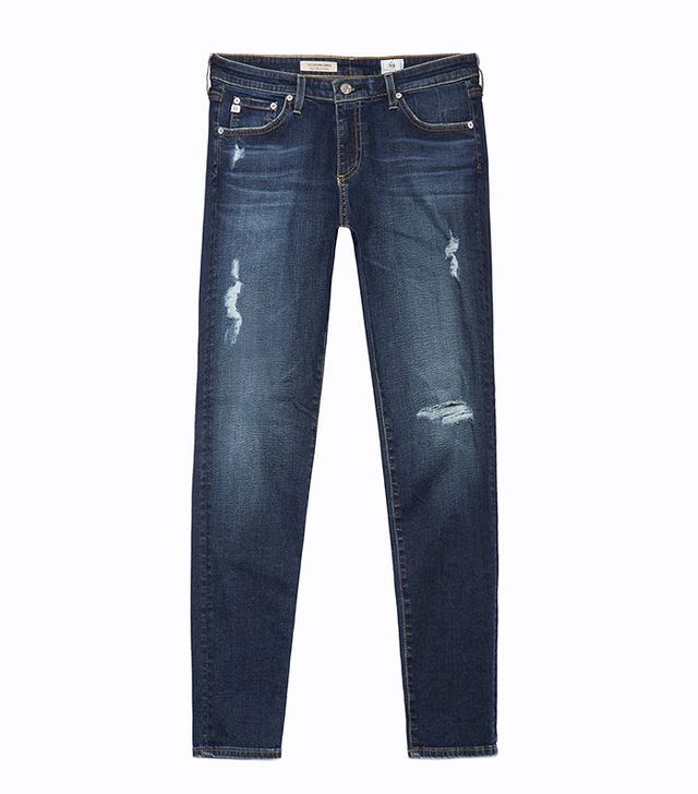 best skinny jeans- ag the legging ankle jeans
