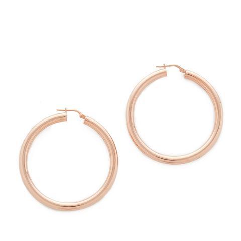Purezza Medium Hoop Earrings