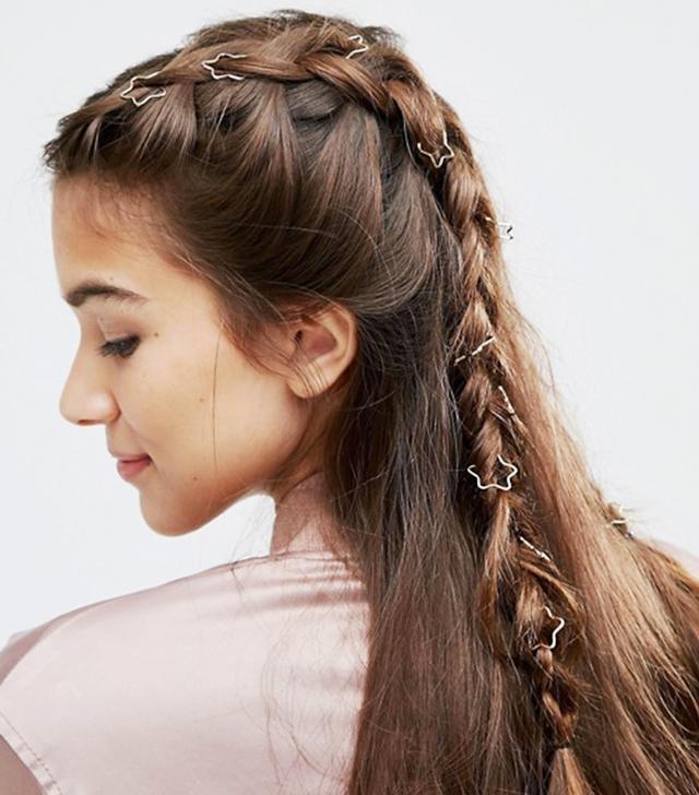 ASOS Pack of 20 Star Hair Rings