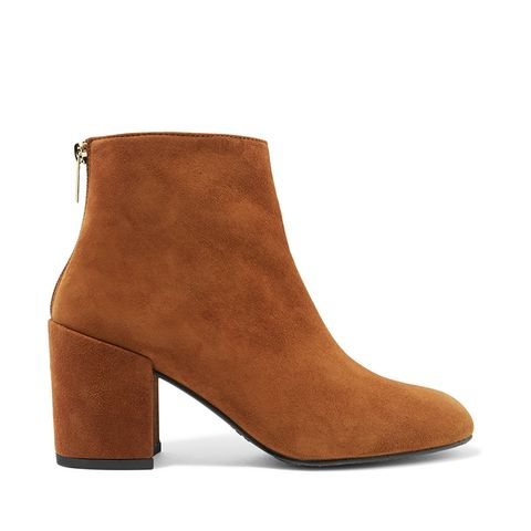 Bacari Suede Ankle Boots