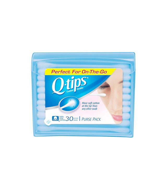 q-tips - how to remove waterproof mascara