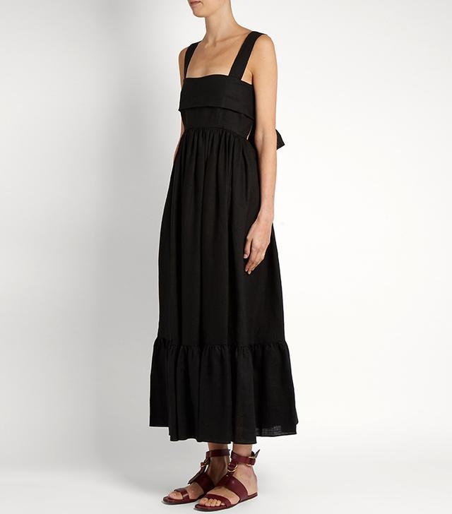 best black summer dress- Chloé