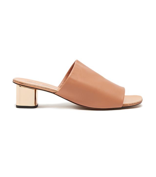 best mule sandals- Robert Clergerie Lato Slide Sandals