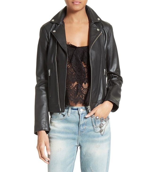 best leather jacket- the kooples