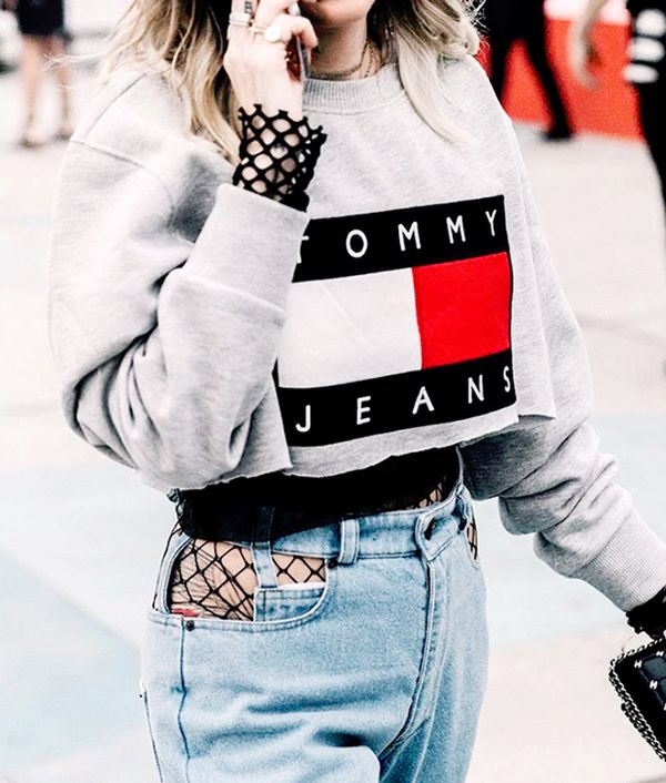 From Instagram to the streets, it became a popular choice tolet fishnets peek out from under a pair of jeans.