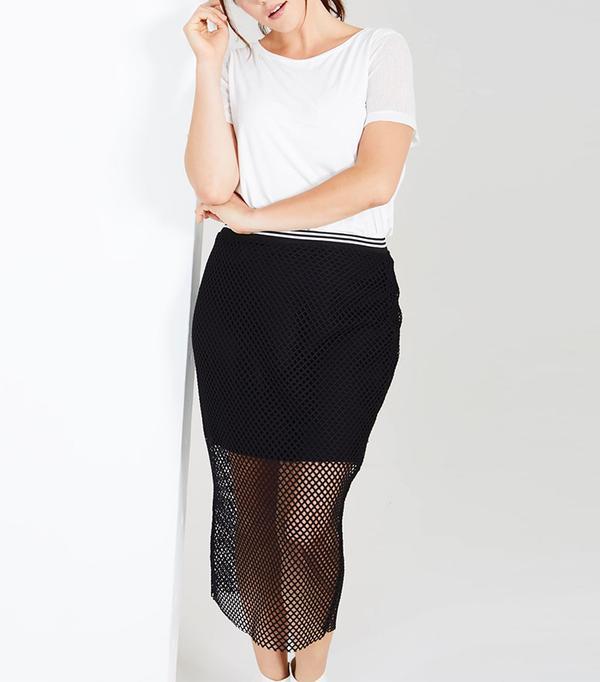 Elvi Fishnet Skirt