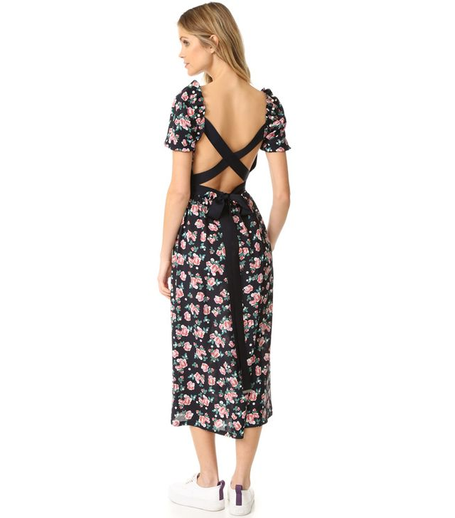 Mother of Pearl Zoe Silk Dress