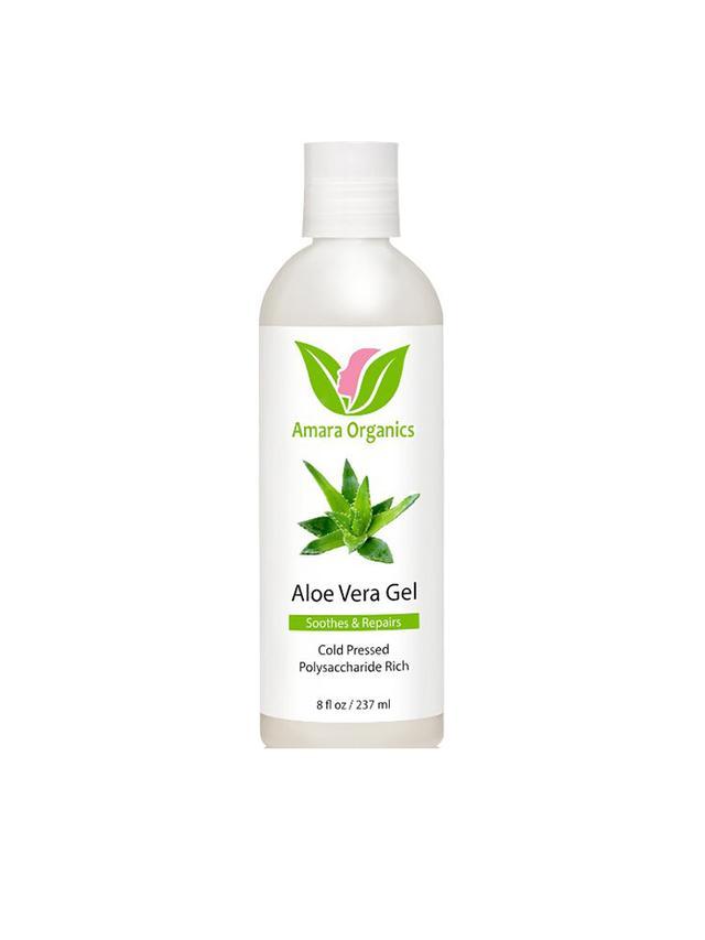 Amara Organics Aloe Vera Gel - Music Festival Essentials
