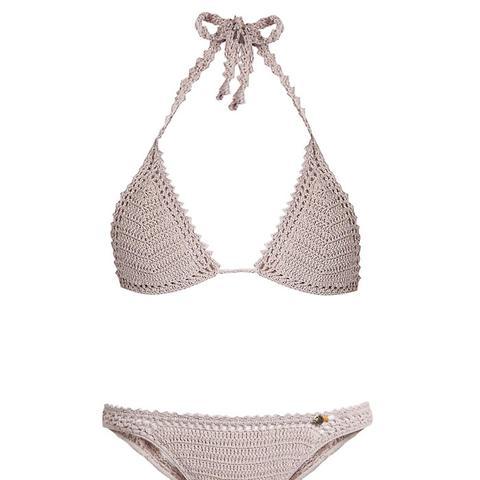 Essential Crochet Triangle Bikini Top