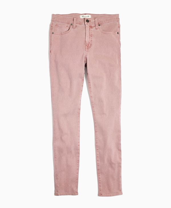 "Madewell 9"" High-Rise Skinny Crop Jeans: Garment-Dyed Edition"