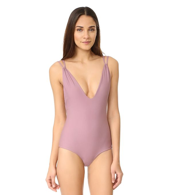 Tori Praver Swimwear Solids Elena One Piece