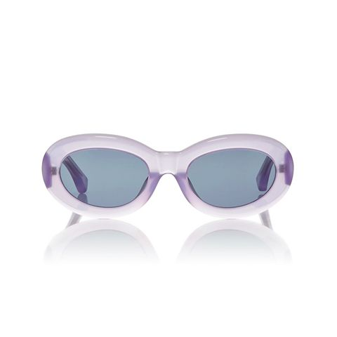 Lilac Lucite Sunglasses