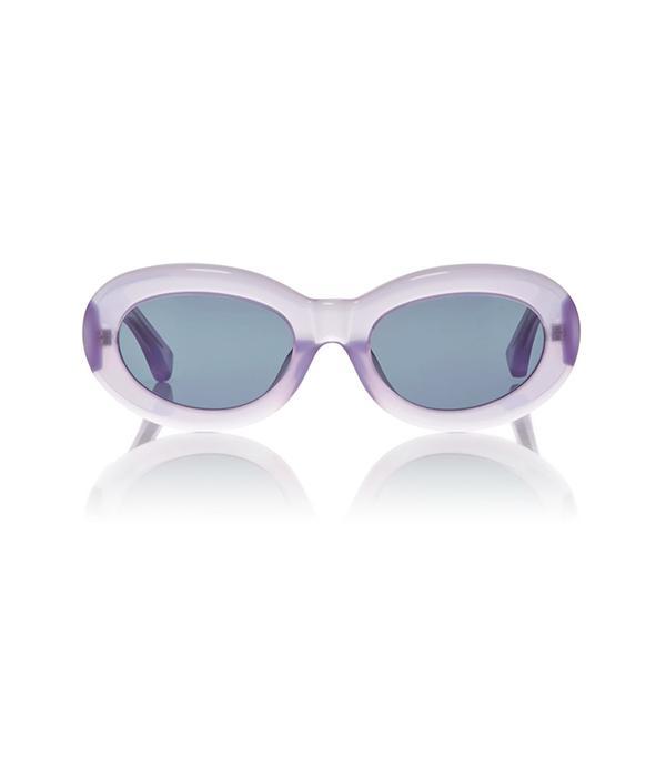 best new sunglasses dries van noten lilac lucite