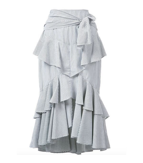 Rebecca Vallance The Parker Frill Skirt