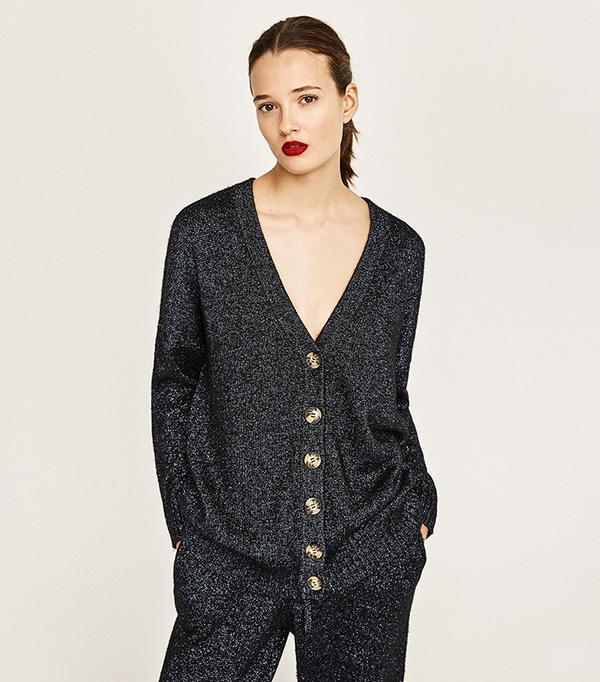 Zara Shiny Fabric Jacket