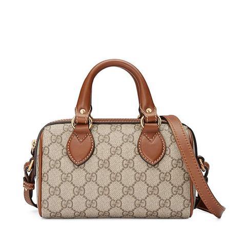 GG Supreme Mini Top-Handle Satchel Bag