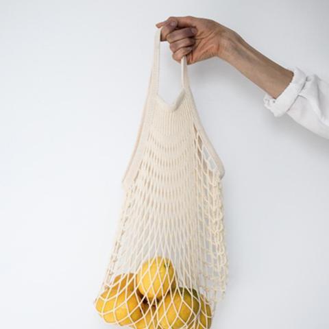 Parisian Cotton Net Bag