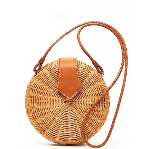 Romina Wicker Crossbody Bag