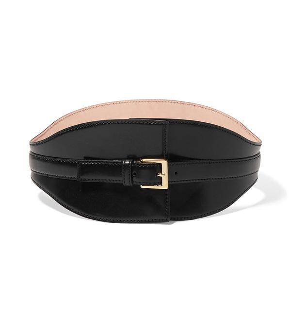belt trend - Alexander Mcqueen Leather Waist Belt