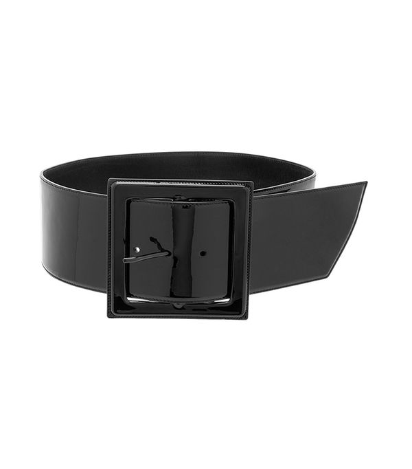 belt trend - Saint Laurent Glove Patent Corset Belt
